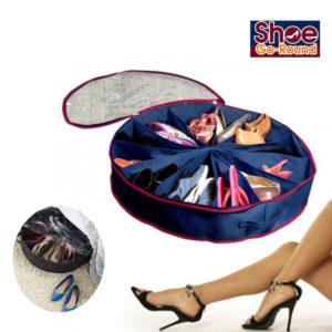 Shoe Go-Round Organizer space seving Spinning Storage