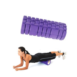Grid Foam Roller Yoga Gym Pilates Massage Physio Back Exercise Trigger Point