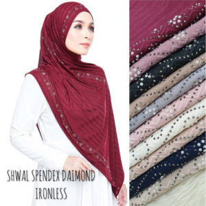 Shawl-Spendex-Diamond-Ironless