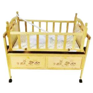 Baby-Wooden-cradle-cot-PR058