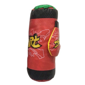 Kids-boxing-punching-bag-with-gloves