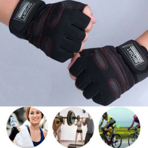 Sports-best-fashion-Gym-fitness-workout-weighting-and-bike-riding-half-finger-gloves