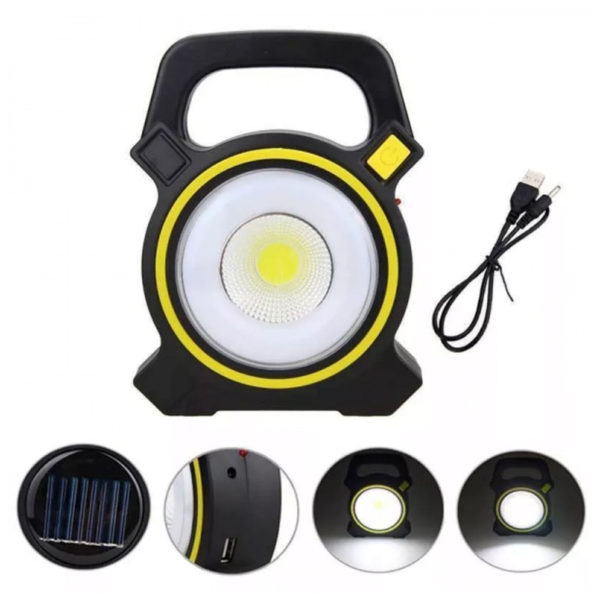 Solar-USB-Rechargeable-Portable-camping-Emergency-Cob-Work-Light-light