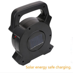 Solar USB Rechargeable Portable Camping Emergency Cob Works Light