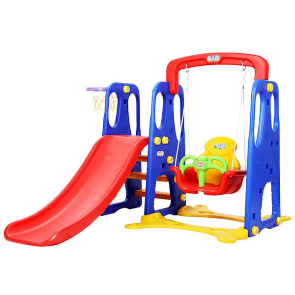 3-in-1-Indoor-Outdoor-Slide-kids-Swing-Set