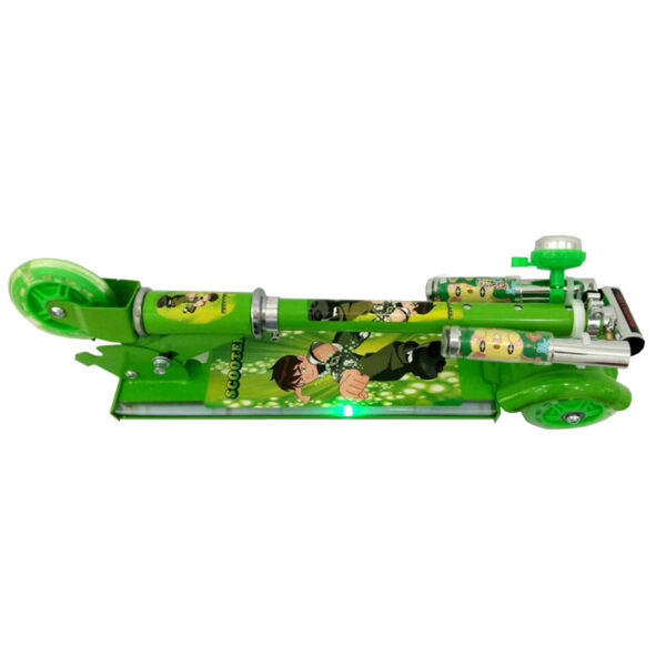 Kids-Foldable-3-Wheel-Scooter-Ben10