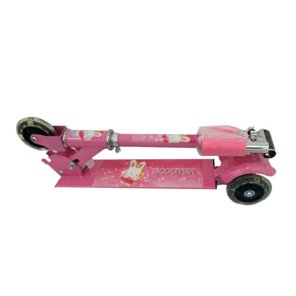 Kids-Foldable-3-Wheel-Scooter-pink