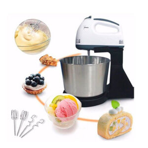 2 in 1 Scarlett Electric Super 7 Speed Food Cake Mixing Hand Mixer