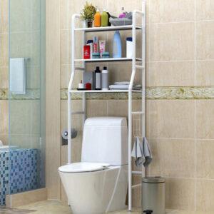 3 Layer Space Saving Storage Toilet Rack