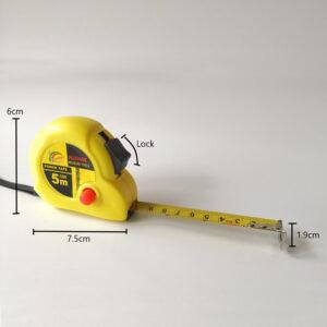 5M 16ft Steel Retractable Measuring Tape