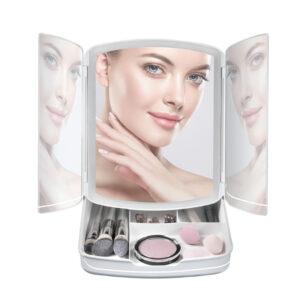 My Fold Away Lighted Makeup Mirror