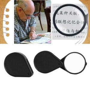 Portable Mini Magnifying Glass 60mm