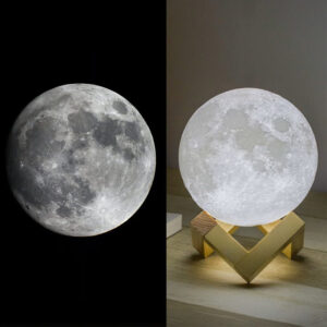 Rechargeable 3D Moon Light Night Lamp