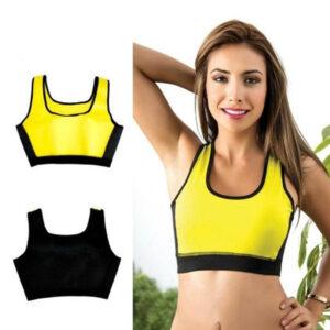 Womens Body Slimming Hot Shapers Sports Fitness Bra