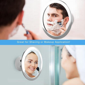 Fogless Shower Mirror with LED
