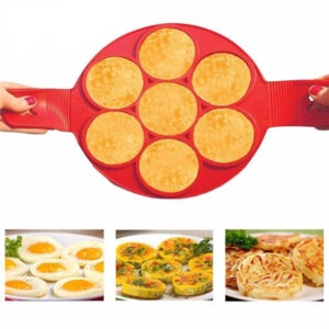 7 in 1 Silicon Egg Cheese Bread Bakeware Pan Cake Maker