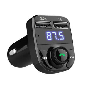Generic X8 Multifunction Wireless Car MP3 Player Dual USB Charger