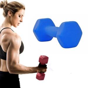 Gym Fitness Neoprene Dumbbell 1-10Kg