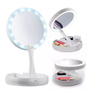 My Fold Lighted Foldable Make Up Mirror JG-988