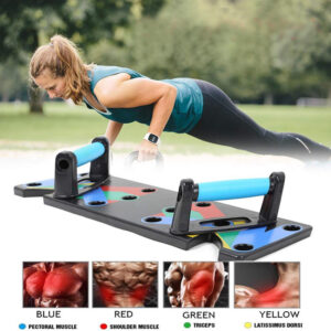 12 In 1 Multifunctional Foldable Home Exercise Portable Push Up Board