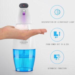 Inductive Foaming Disinfect Soap Dispensers Automatic Intelligent Sanitizer Dispenser