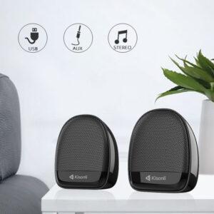 Kisonli Mini Laptop Computer Speaker Ks-08