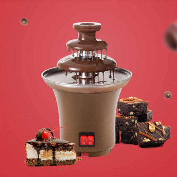 Mini Chocolate Fountain Fondue Machine