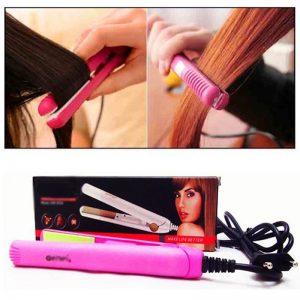 Geemy Mini Hair Straightener Hair Iron 2923
